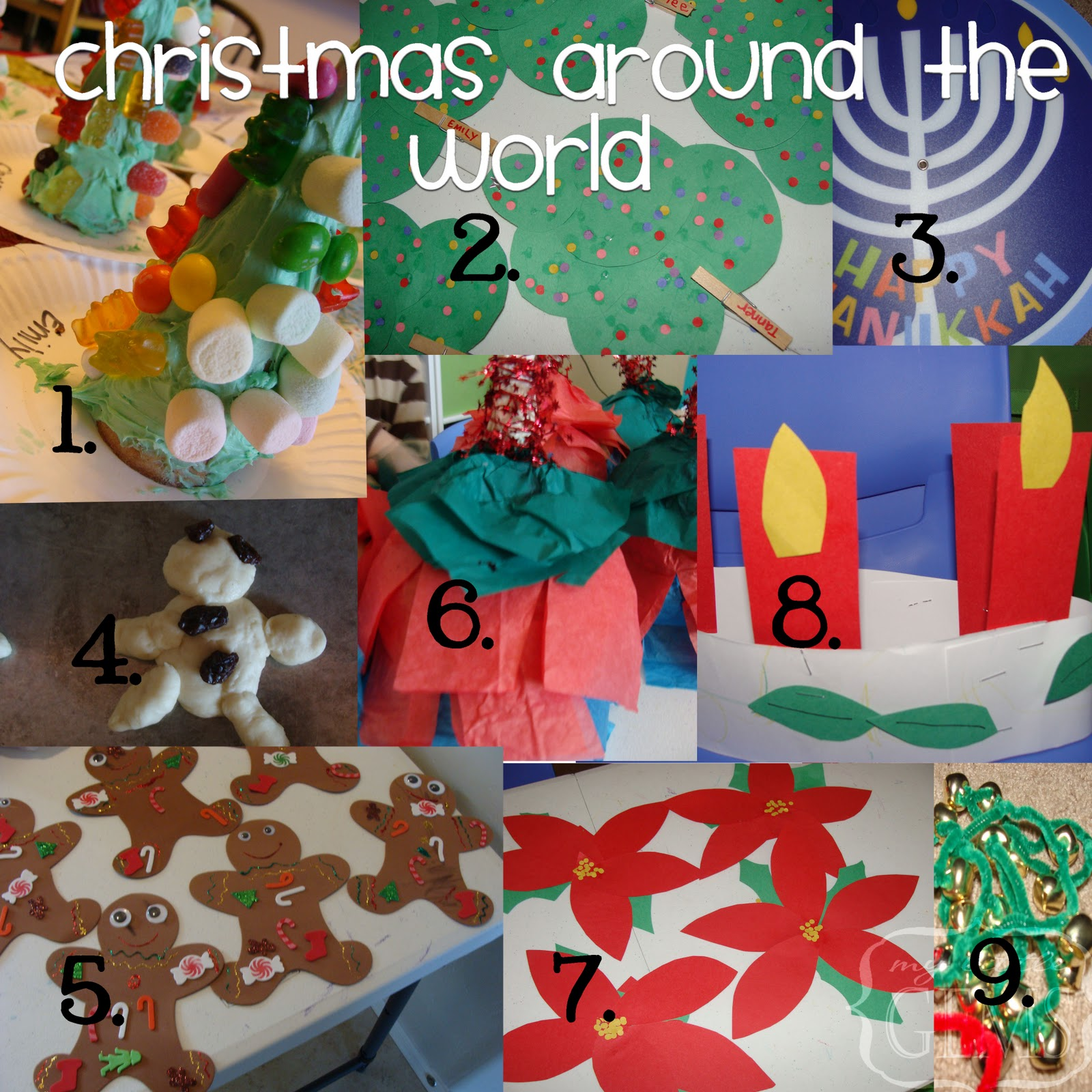 Decor World: My Little Gems: Christmas Around The World Ideas