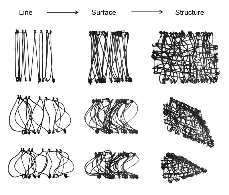 Constructed Textiles: Organizational processes of