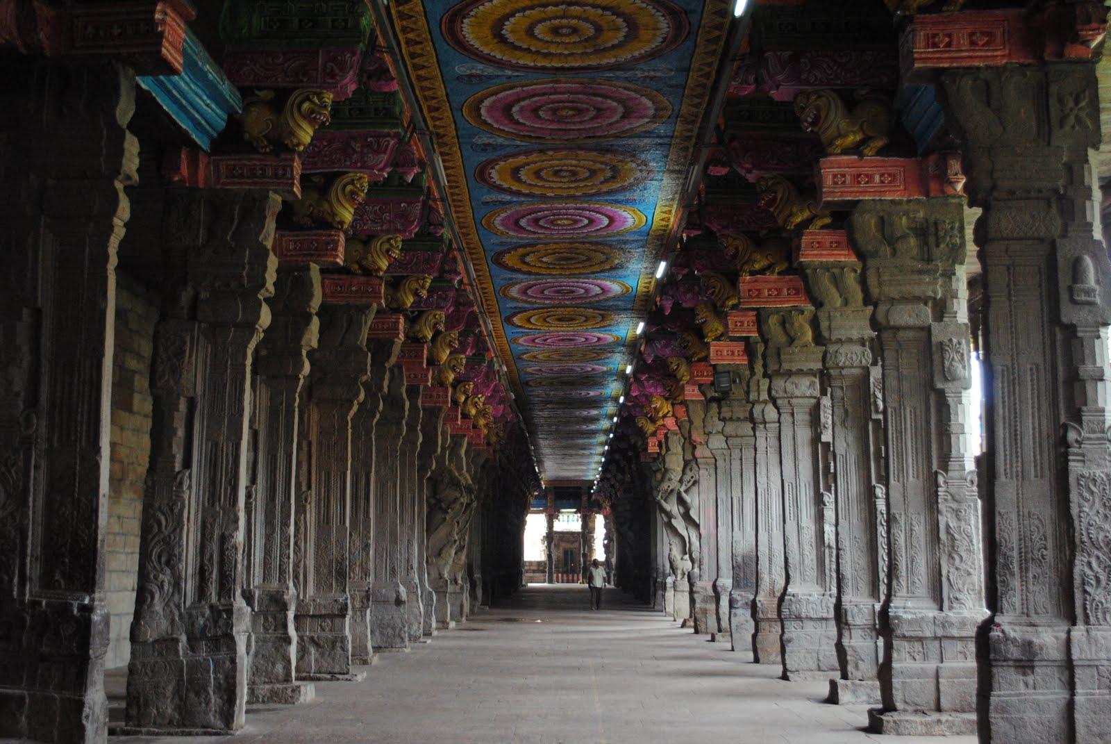 Meenakshi Temple Madurai Shadows Galore