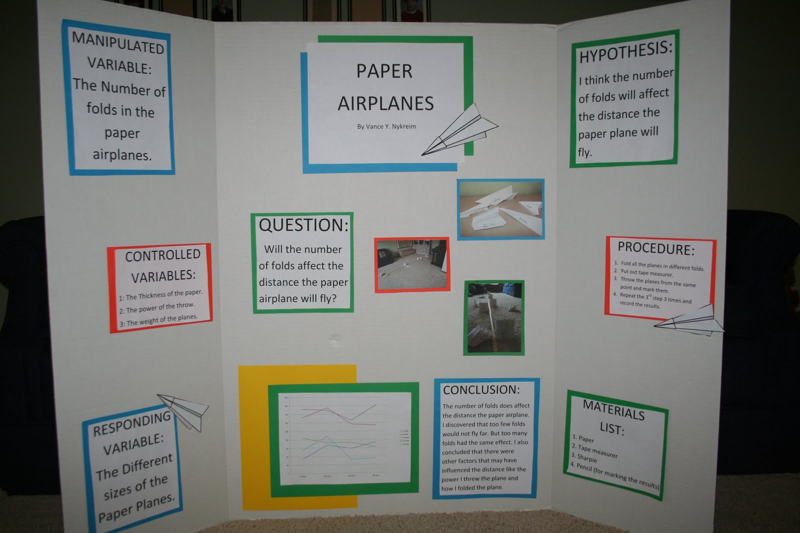 6th grade science fair project