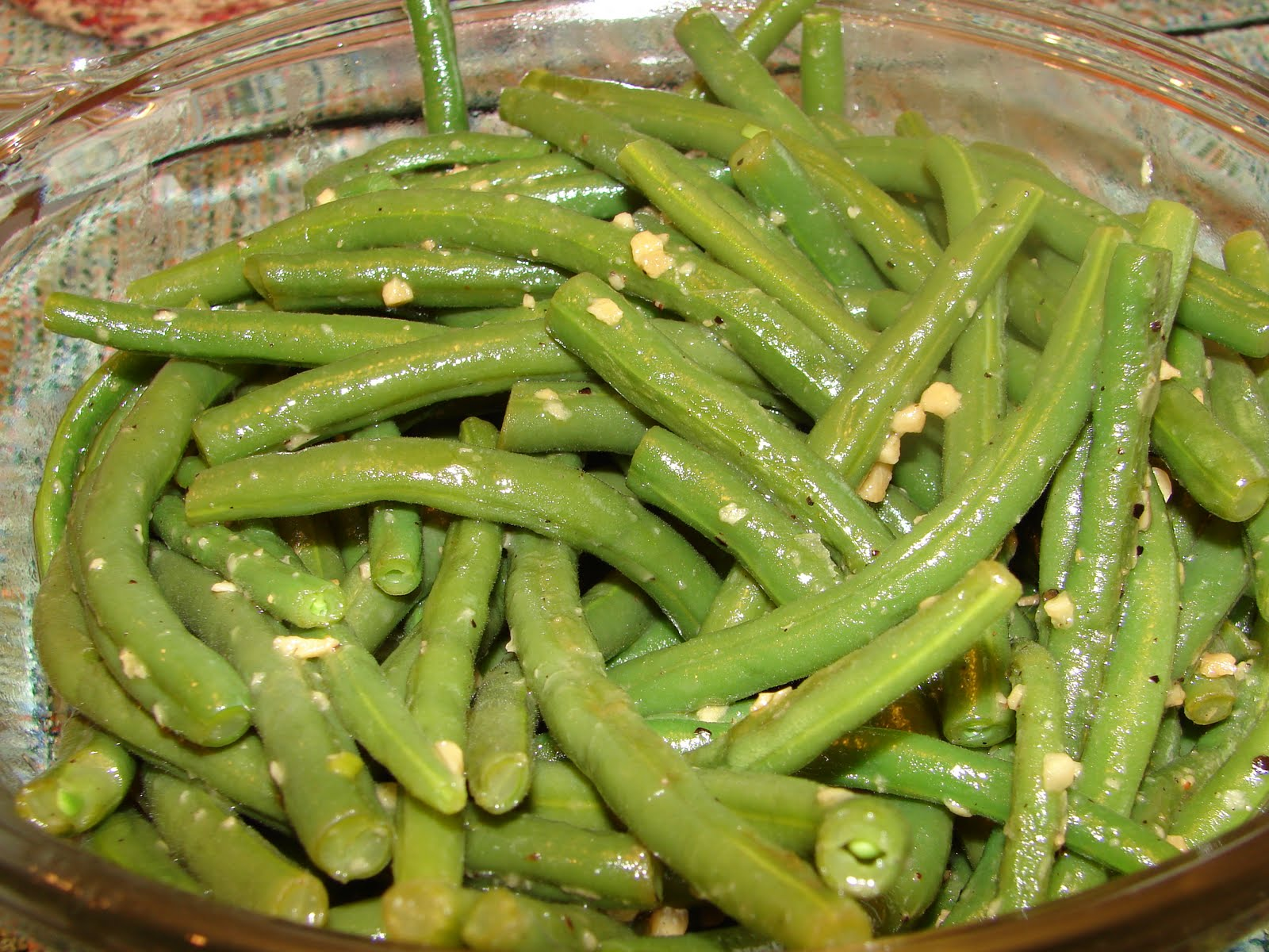Garlic And Olive Oil Sauteed Green Beans Recipe — Dishmaps