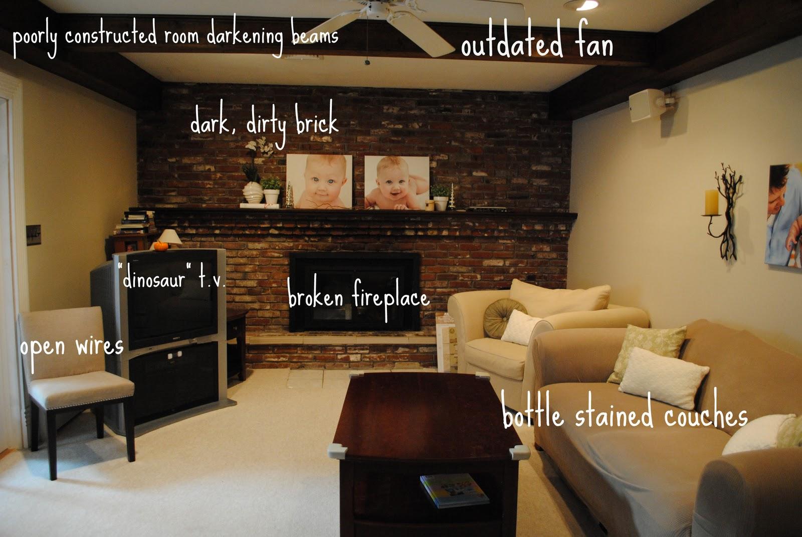 Living Room Renovation Progress Making Lemonade