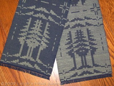 Summer & Winter Pine Tree motif