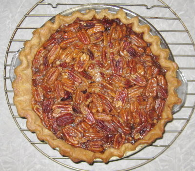 My very 1st pecan pie