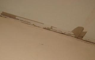 5 Acres & A Dream: Progress On The Bathroom Ceiling