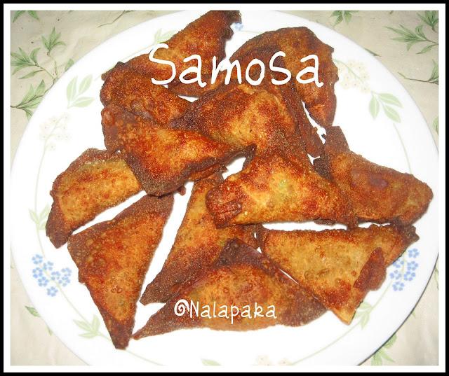 Samosa Chaat - Malas-Kitchen