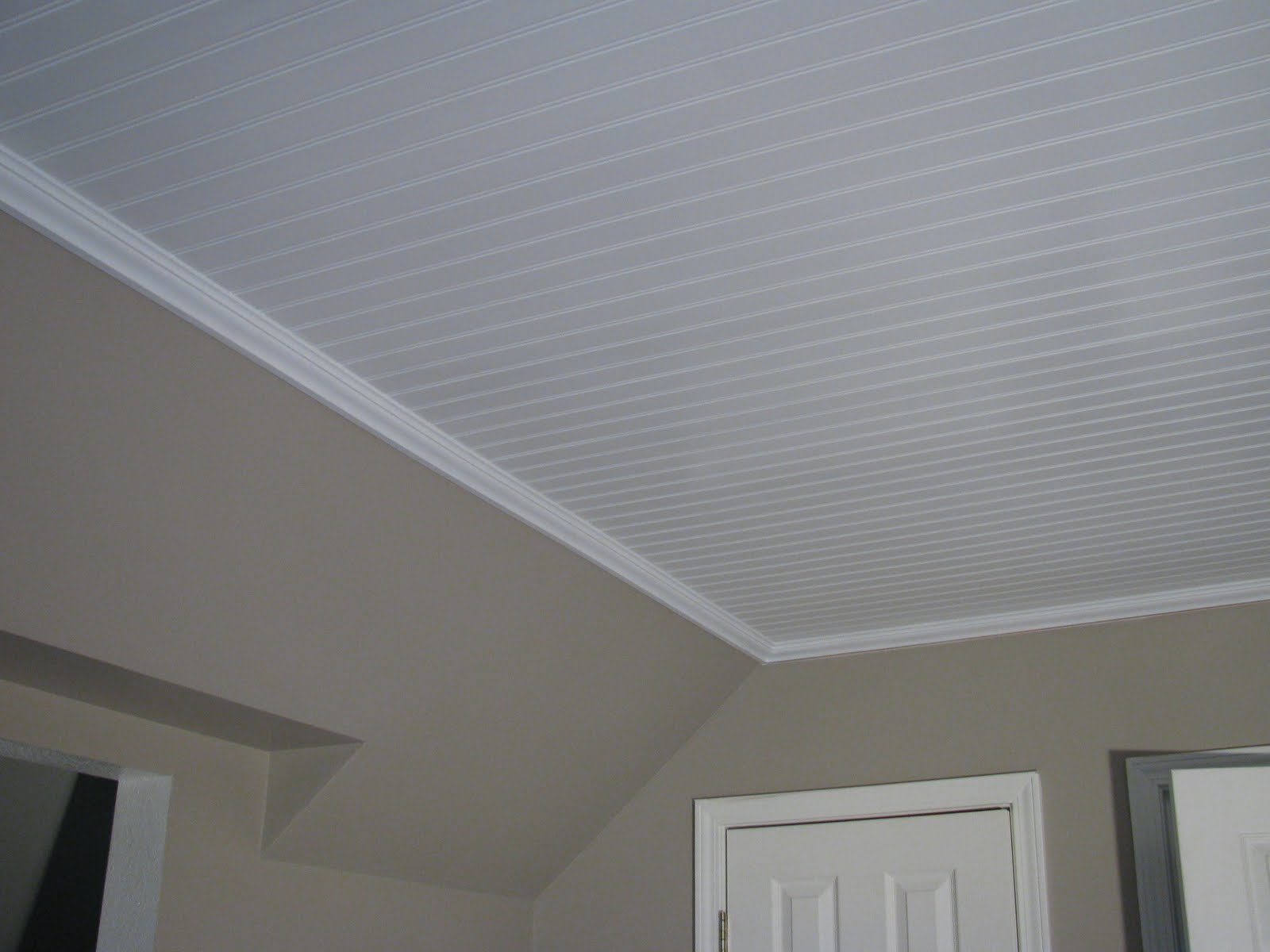 Our creative life beadboard on the ceiling are you serious - Different types of decorative ceiling tiles you can find ...