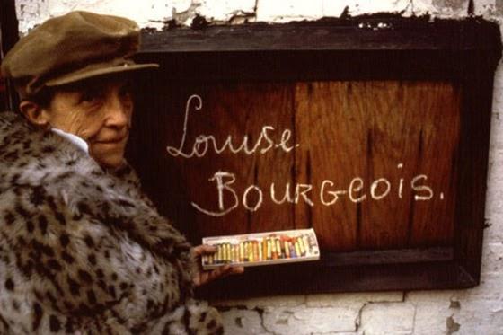 rouge blanc noir: louise bourgeois