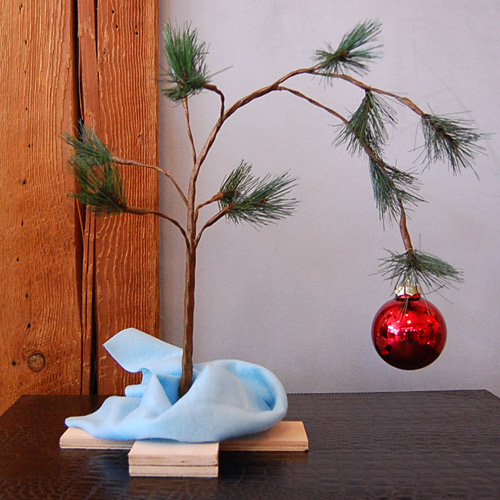 Peanut Christmas Tree: I'd Rather Be Eating: Bah Humbug