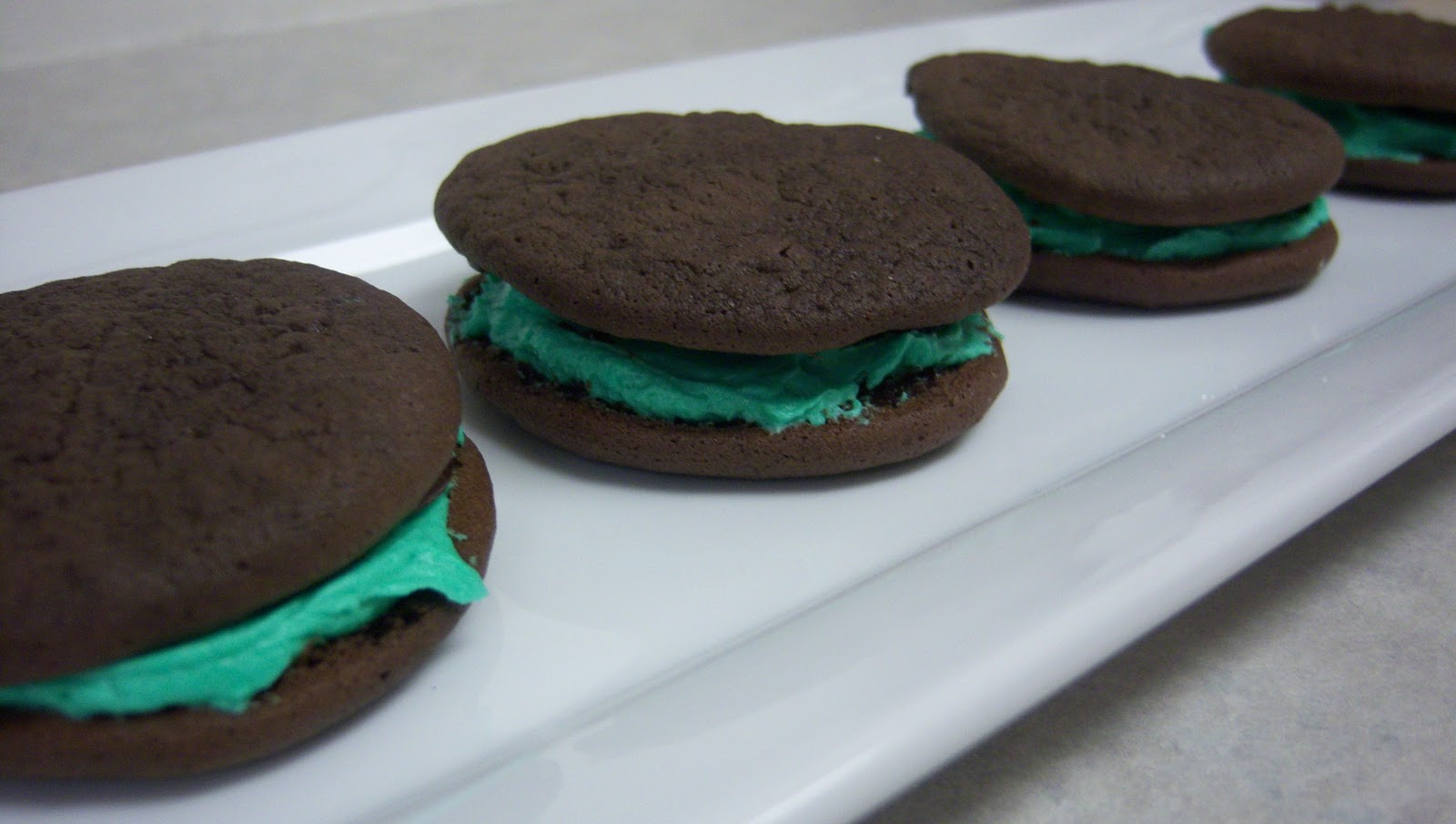Thyme In Our Kitchen: French Macarons vs  Whoopie Pies