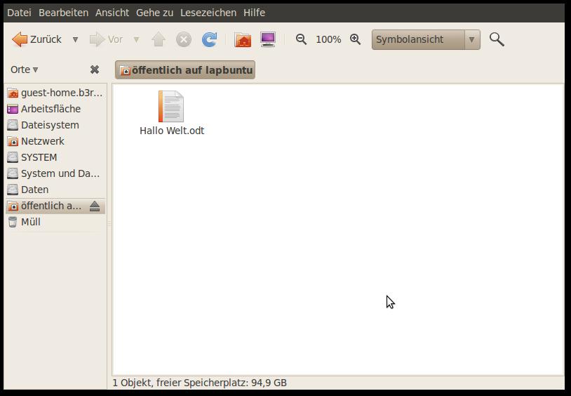 ubuntu besitzer ändern