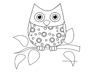 Owls Coloring Sheets | Owly