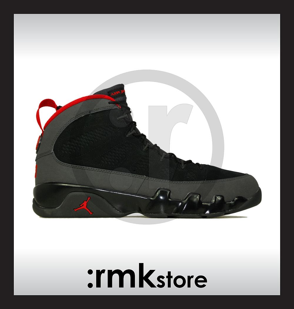 1dec47c00ee ... discount code for nike air jordan 9 ix retro black charcoal red 302370  005 e40d0 36cfd