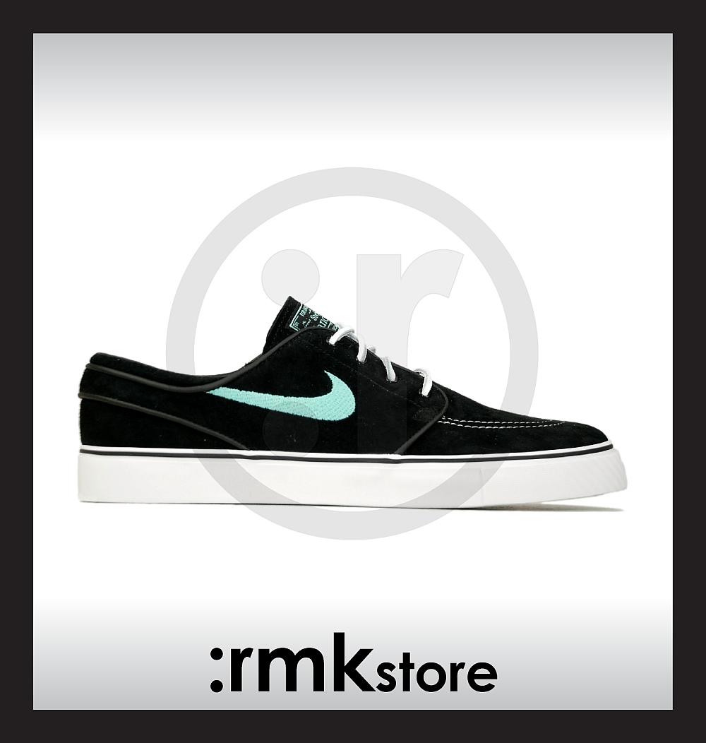 9e6015fbbc14 Nike Zoom Stefan Janoski SB Black Mint 333824-003