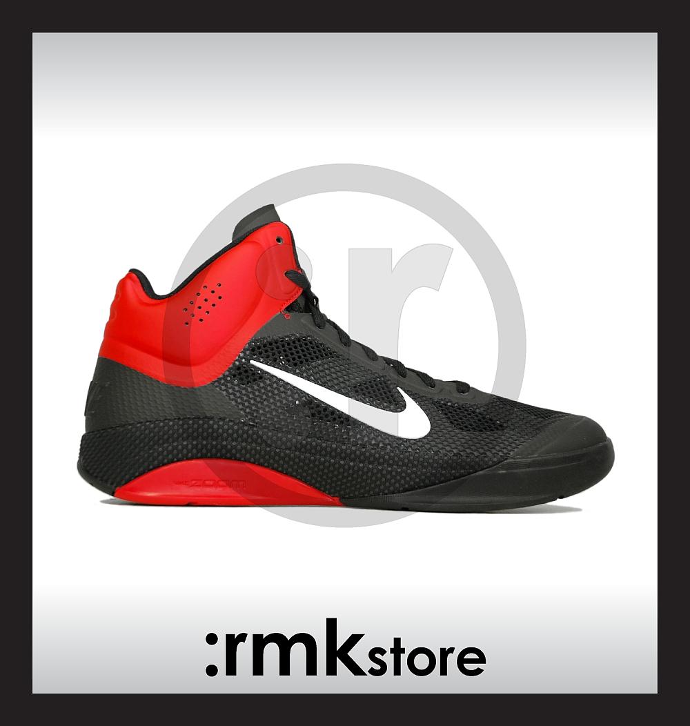 8122f1ef7cf0 Nike Zoom Hyperfuse Black Sport Red 415138-003