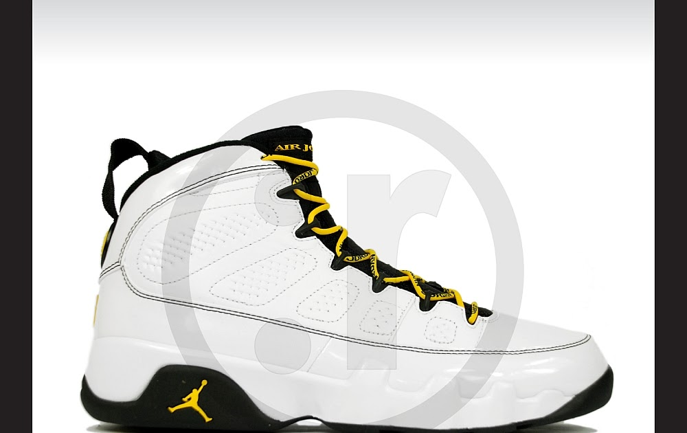 cheaper 40eed 18d00 rmkstore  Nike Air Jordan 9 IX Retro Quai 54 Citrus Dark Army 302370-105