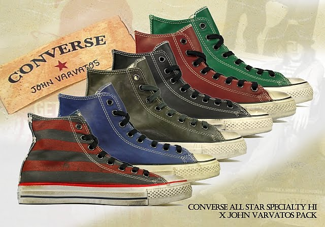 8e03fea81cb64f Converse Chuck Taylor All Star Specialty Hi x John Varvatos Leather Pack