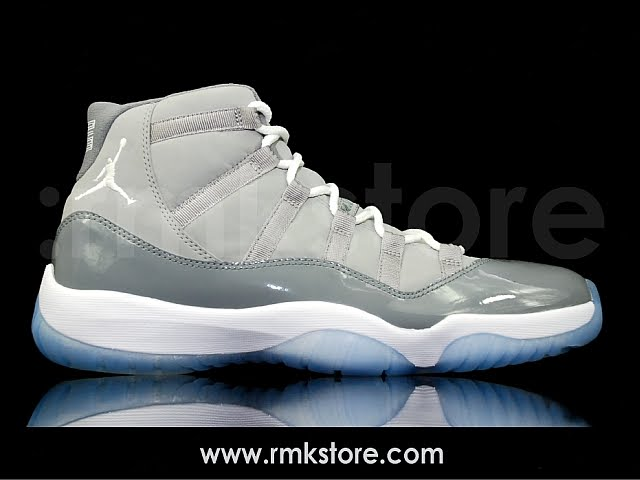 finest selection e012f 215f6 Nike Air Jordan 11 XI Retro 2010 Cool Grey 378037-001(Detail Photos Updated)