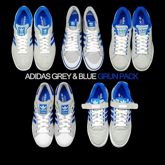 new arrival 2f37a 15d17 Samba Grey Blue G12536 · - Stan Smith 2 Grey Blue G19844 · - Superstar II  Grey Blue G17254 These 5 Grun Sneaker by Adidas ...