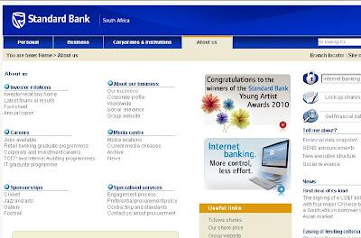 Www standardbank co za internet banking standard bank online banking