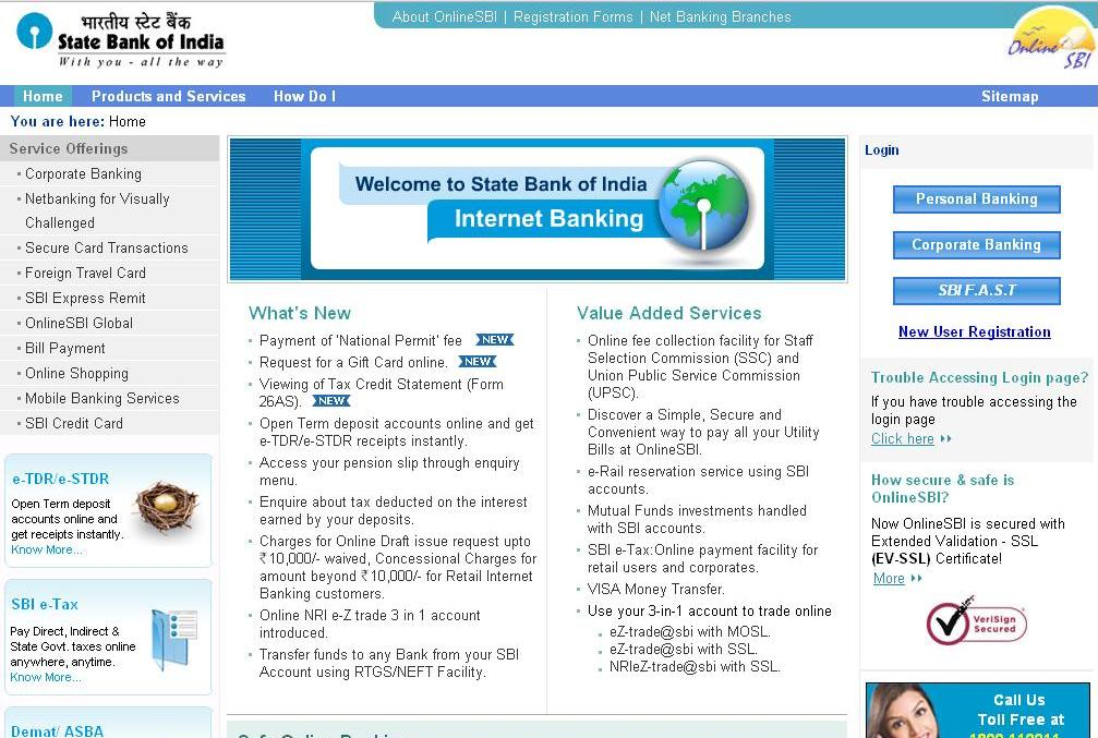 internet bank of sbi