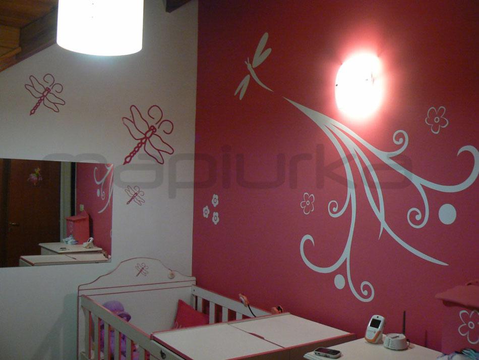 Mapiurka adhesivos decorativos ba dormitorio de beb for Adhesivos decorativos para dormitorios