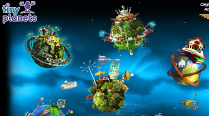 Eclectic Montage: Tiny Planets Review