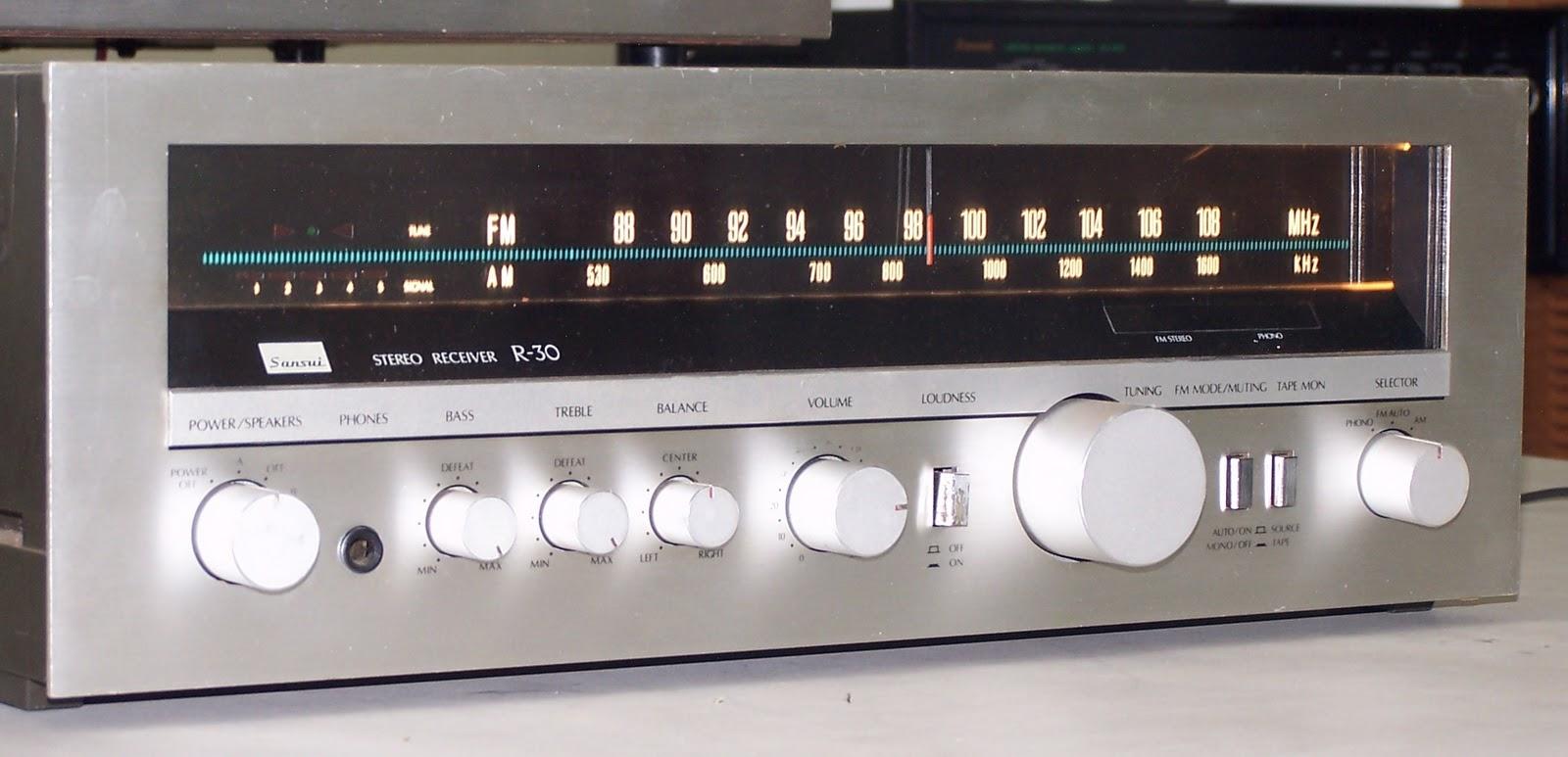 Sansui R 30 Receiver Amplifier | Vintage Audio
