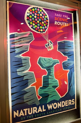 Posters: Up (From Pixar's Wrap Party)