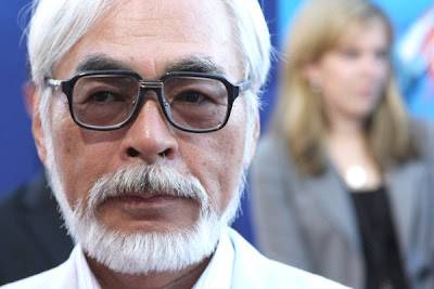 Photos: Hayao Miyazaki at El Capitan Ponyo Premier