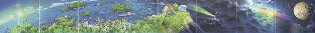 Ponyo Watercolor Panaramas
