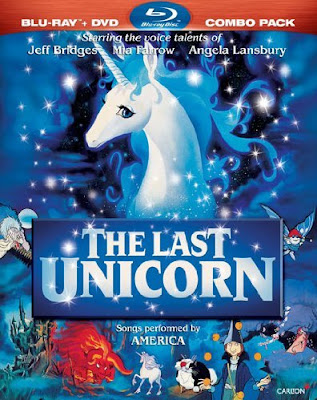 The Last Unicorn on Blu-Ray/DVD Combo