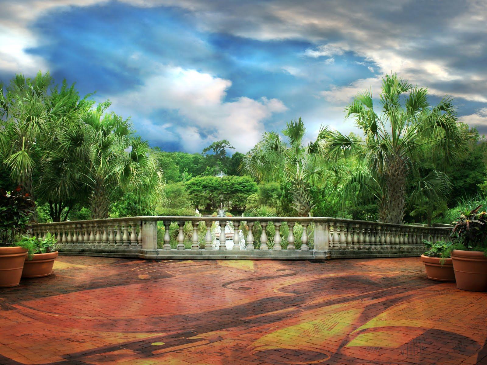 Banco de im genes gratis jardines y residencias lugares - Fotos de jardines ...