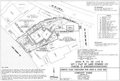 Steuben County Plan Commission: Sample Sketch Plan