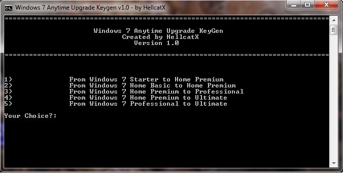 windows 7 starter upgrade key