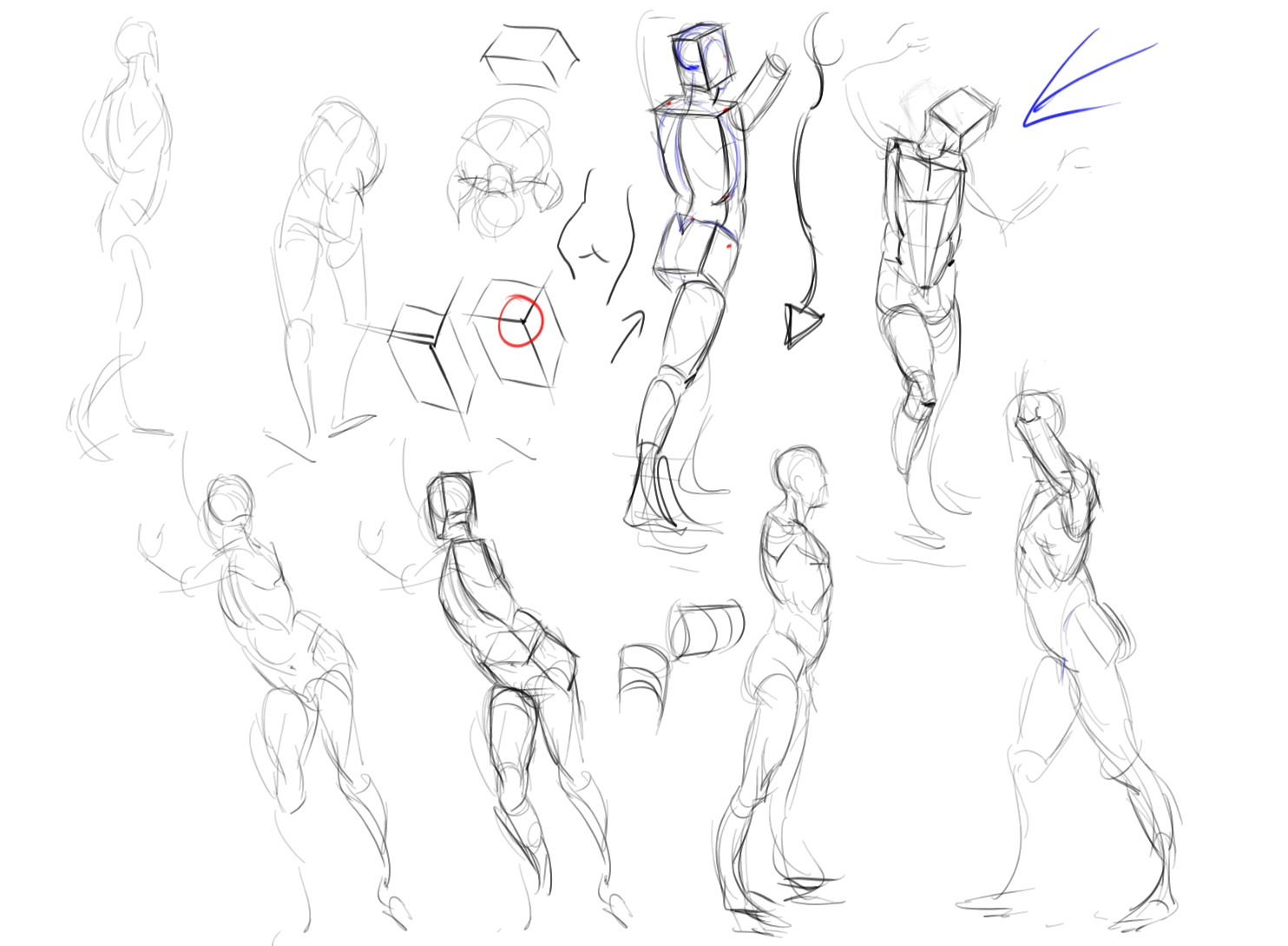 Drawing The Life Force April