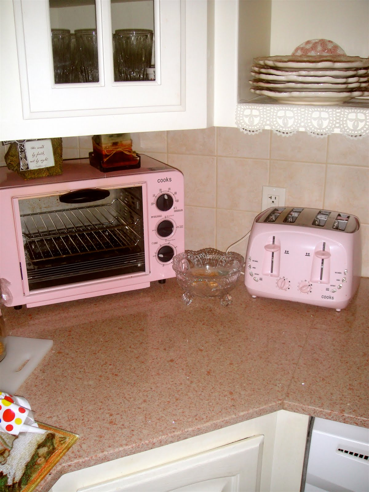 Baby Pink Kitchen Appliances Diy Outdoor Plans The Lady In Pearls Aug 23 2010