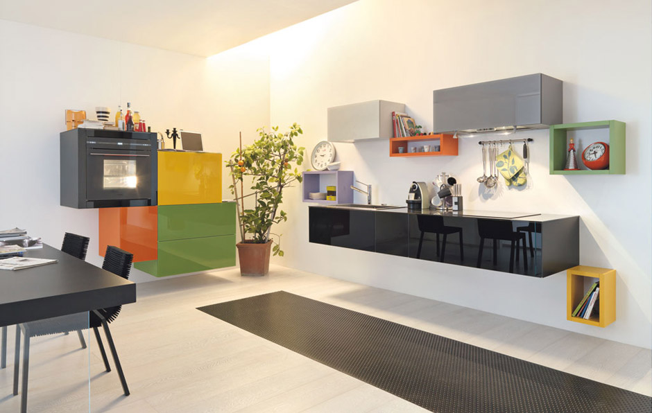 modern kitchen designs colorful kitchen cabinet combinations small kitchen requires innovative approach designed kitchen