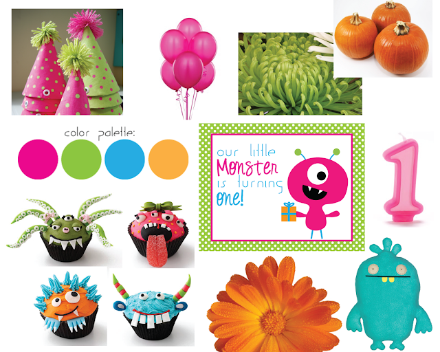 Monster Theme Party Decorations