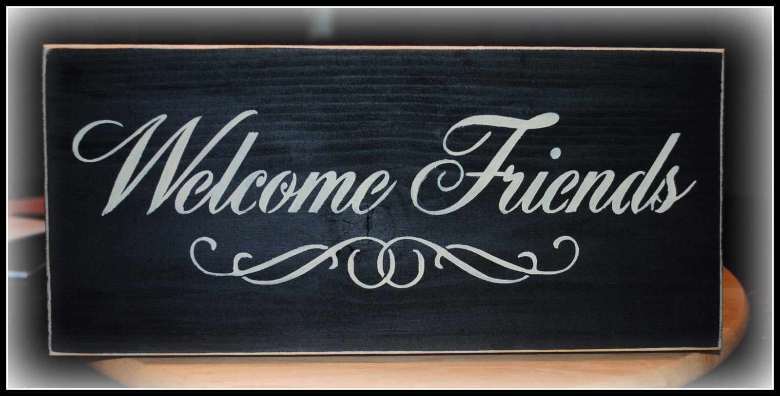Simply Cute Creations: Welcome sign