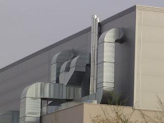 Foto ventilación industrial nave en madrid