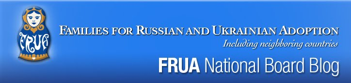FRUA National Board Blog