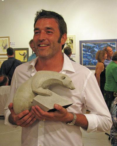 MAKING A MARK: Adam Binder Wins Wildlife Artist Of The