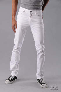 gay jeans Are white