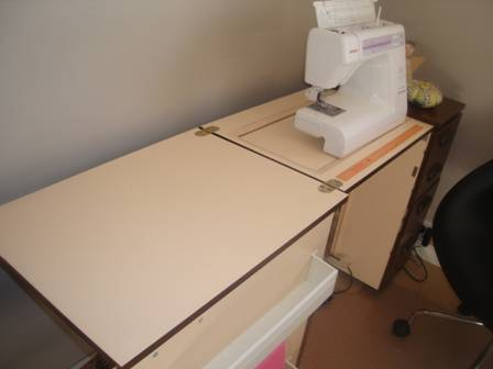SSF Post # 7 : Shay's Sewing Table