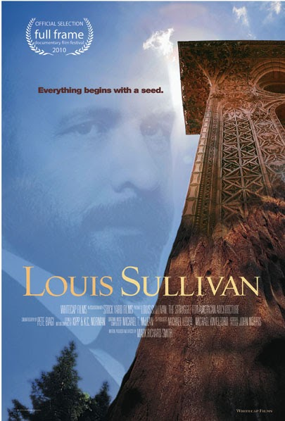 Drawings  Documents Archive Louis Sullivan film tonight  730