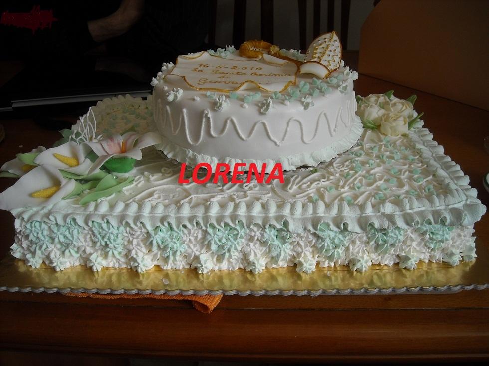 Le torte di lorena e non solo cresima di giovanni - Decorazioni per cresima ...