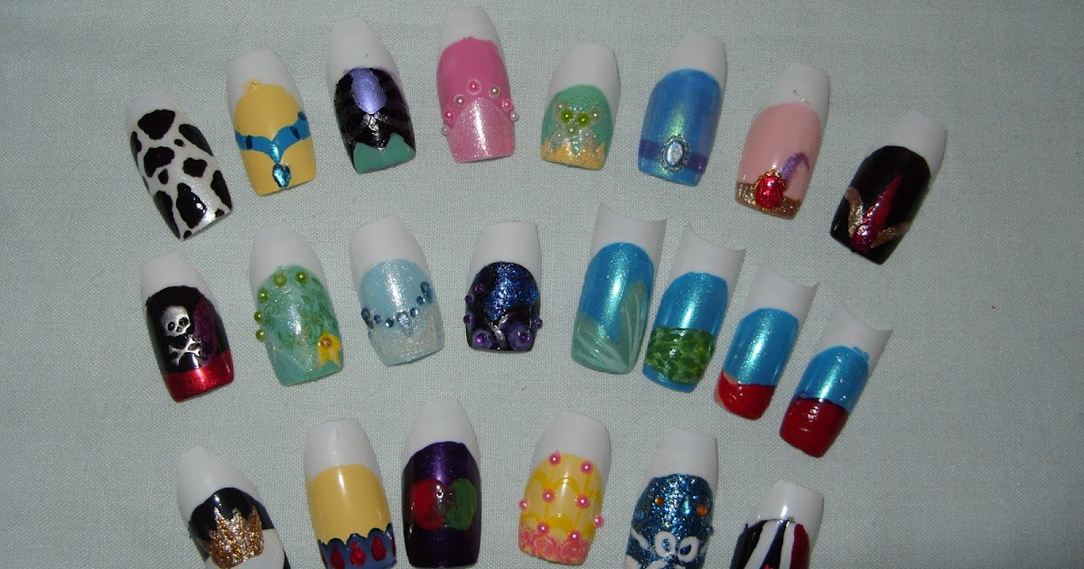 sharihearts: Coming Soon: Disney Nail Art Series