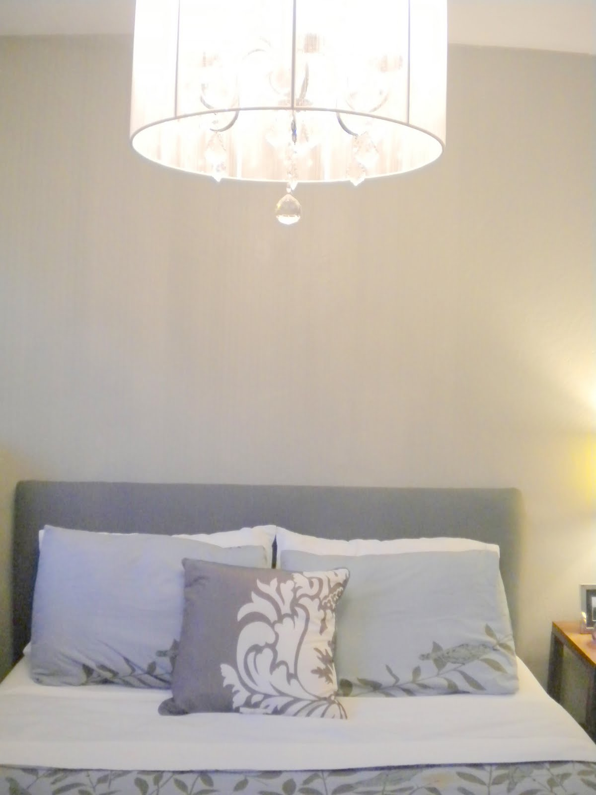 Our Diy Headboard Done Home Depot Center
