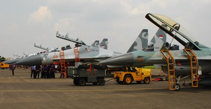Indonesian defense strategy military aircraft acquisition